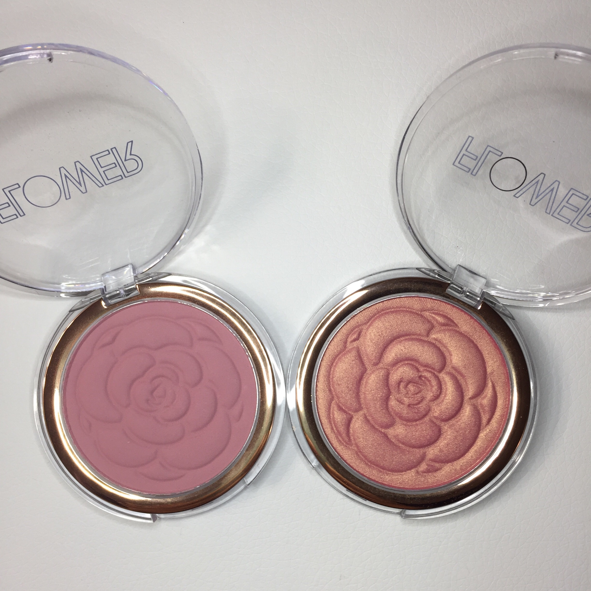 Flower cosmetics review as told by jenny first off i love the name of these blushes flower pots so cute anyway there are four shades in this line the two that i have are beautiful izmirmasajfo